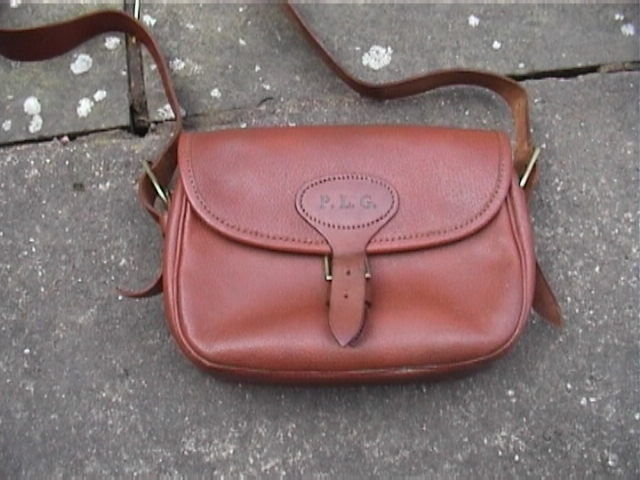Vintage Leather 100. Cartridge Bag...