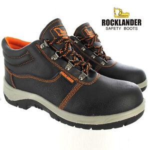Rocklander Men Work Boots Cap Ankle