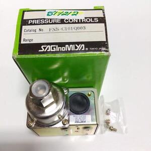 SAGINOMIYA 5A 250VAC 98KPA PRESSURE CONTROL SWITCH FNS-C101Q003 NEW