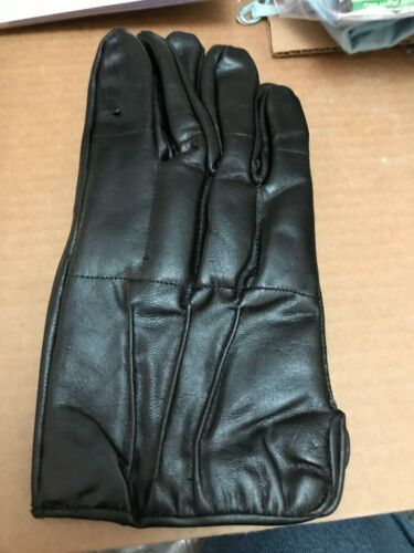 Police Force SAP Leather Gloves Impact Protection Self Defense Bikers Motorcycle