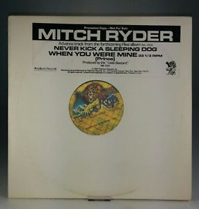 MITCH-RYDER-When-You-Were-Mine-NM-Vinyl-PROMO-12-034-Single-Prince-MK-244-1983