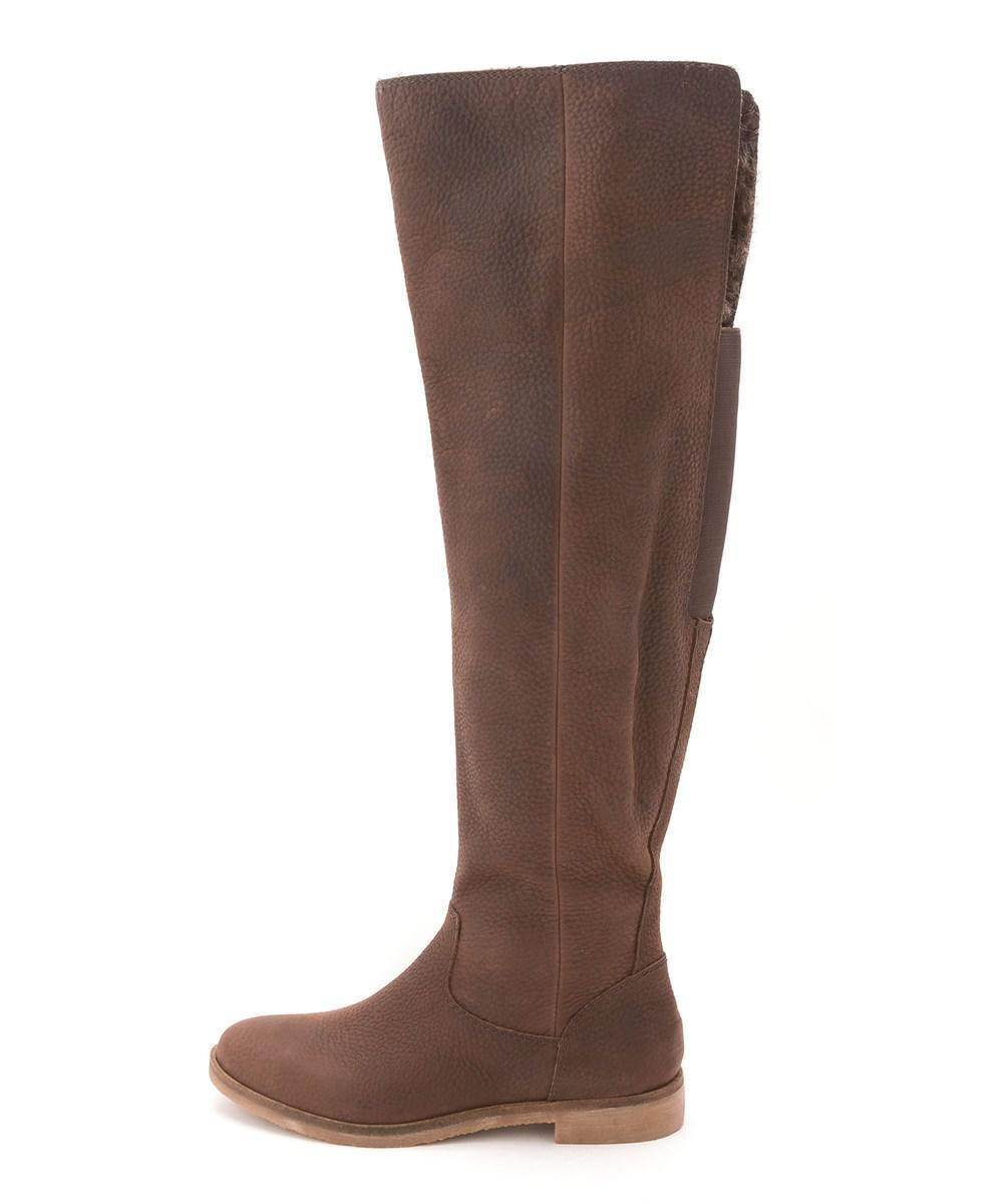 Lucky Brand Generall Knee High Riding Boot Storlek 9 ny MSRP   229