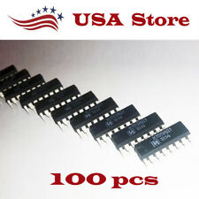 K155id1 100 Pcs Driver For Nixie Tubes Sn74141n 74141 New Chip Us Shop