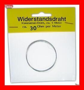 Widerstandsdraht-Styroporschneidedraht-W030-30-Ohm-m-5m