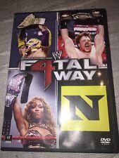 WWE: Fatal Four Way 2010 (DVD, 2010) JOHN CENA EDGE CM PUNK