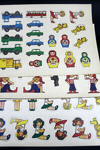 7-Sheets-Figures-Cars-Game-Characters-from-Cardboard-GDR
