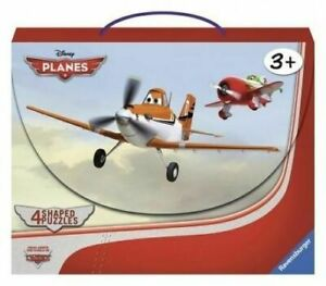 Ravensburger Disney Planes 4 Plane Shaped Puzzles In A Suitcase All Complete For Sale Online Ebay