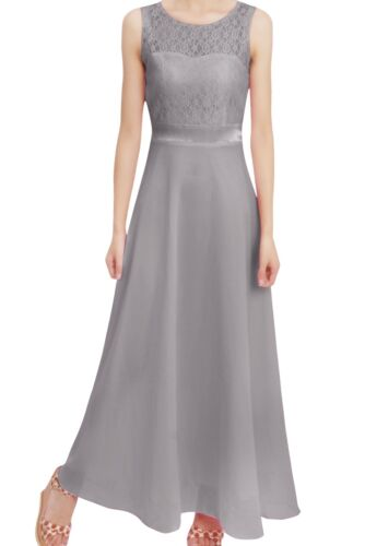 Flower Girls Dress Pageant Formal Party Wedding Bridesmaid Prom Maxi Gown 4-14Y