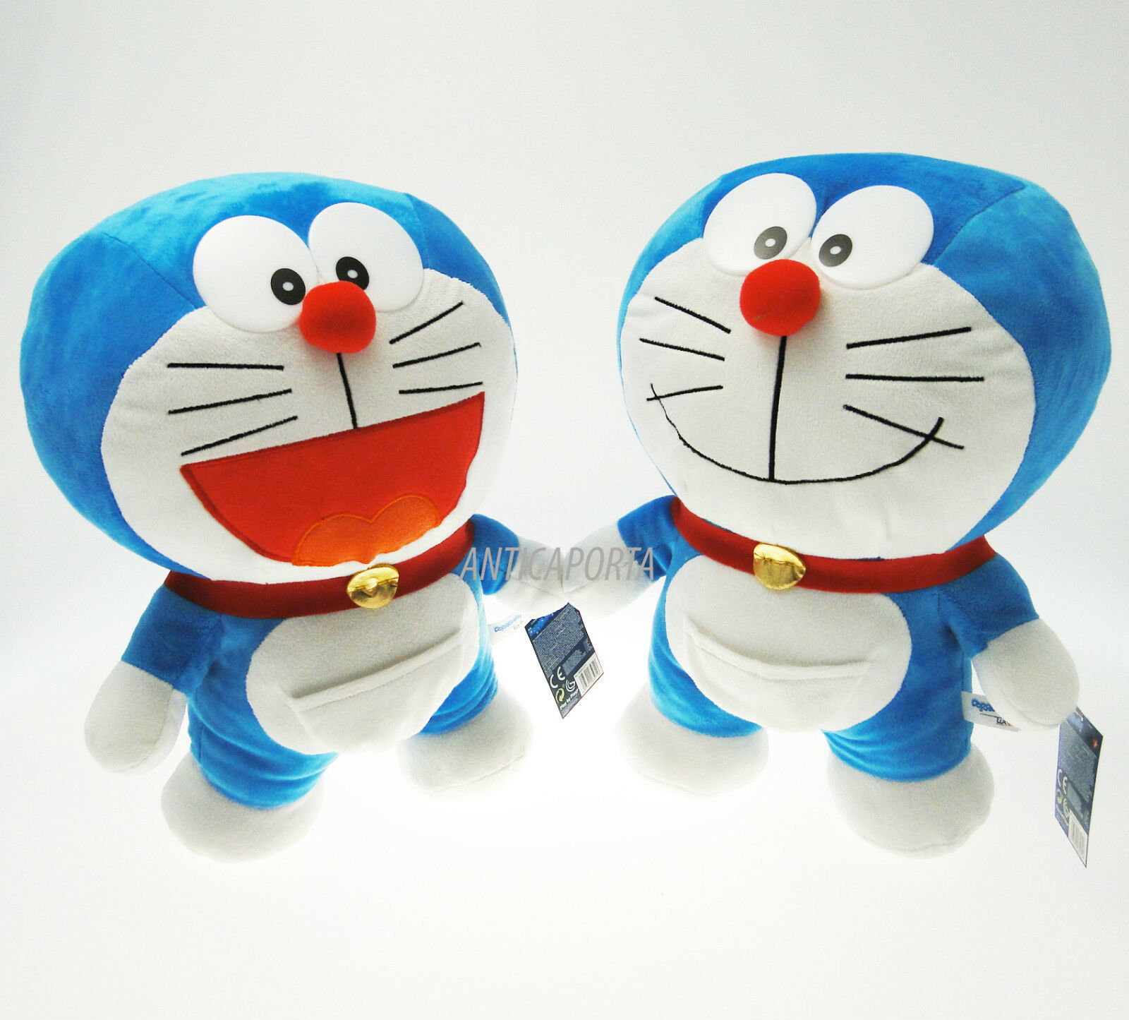 Soft toy Doraemon Original Huge 40 cm with Eyes 3D plastic New 2016