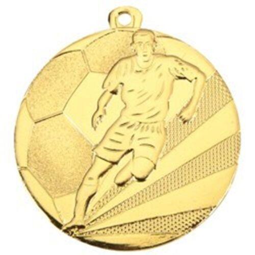 Lot de 10 Striker football man of the match médailles libre rubans D112A.01