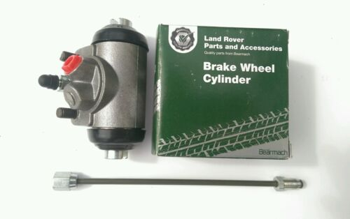 Land Rover Series 2a, 3, Front Wheel Cylinder, Flexi + metal pipe 243296, 577679