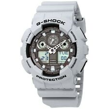 Casio G-Shock Magnetic Resistant Gray Digital-Analog Watch GA100LG-8A