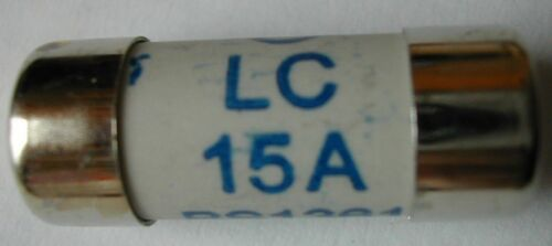 - FINITURA BLU bs1361 domestica dei consumatori Confezione di uno -15 unità principale Fusibile Casella