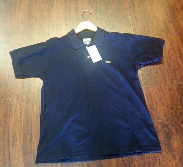 45cd5d37a Lacoste Men s Short Sleeve Pique L.12.12 Original Fit Polo Shirt Navy Blue 4