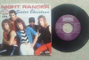 NIGHT-RANGER-SISTER-CHRISTIAN-GERMAN-COLLECTORS-EDITION-7-INCH-VINYL-SINGLE-1984
