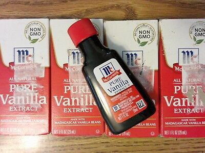 Mccormick Vanilla Extract Nutrition Label