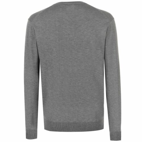 New Mens  Pierre Cardin Stylish Two Tone Knitted Jumper Top Size M-XXL