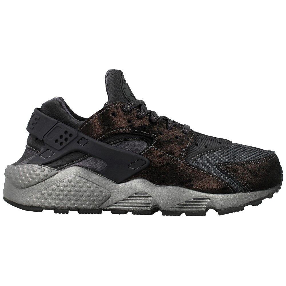 Nike Women's Air Huarache Premium Shoe NEW AUTHENTIC Black/Anthracite 683818-004