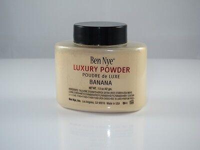 Ben Nye New Banana Luxury Face Powder 1.5 oz Makeup Kim Kardashian Contour
