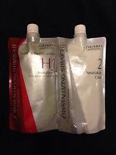Shiseido  ( UK Post ) Crystallizing Straightening Hair Cream system