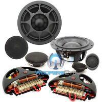 Elate 6 3w Morel 6 3 1 3-way Component Car Audio Speakers Mids Tweeters on sale
