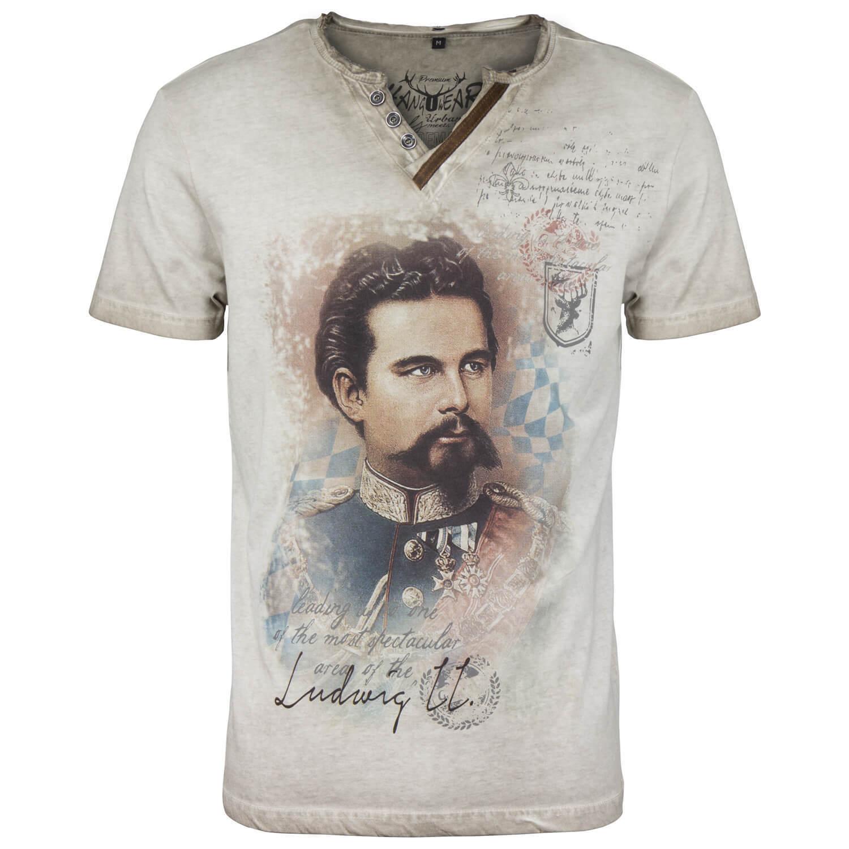 HangOwear Herren T-Shirt Oktoberfest Wiesn Shirt Trachtenshirt Vintage Bayern