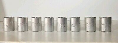 """5 pc NEW Aluminum Coupling Tubular Threaded 1/"""" inch Connector Fitting Pipe"""