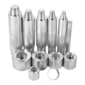 Metall /Ösen Kit 12mm 20sets Kupfer /Ösen mit Scheiben f/ür DIY Leder G/ürtel Handwerk Kleidung Schuhe