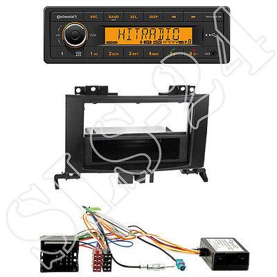 ed ISO Radio Adaptador Kia cee /'d doble DIN diafragma antena conector kit de integracion