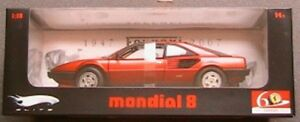 FERRARI-MONDIAL-8-60-ANS-HOT-WHEELS-ELITE-1-18-LIMITED-EDITION-HOTWHEELS-ROSSO