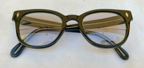 "Vintage Foremost USA 5-3/4"" Black Eye Glass Frames"