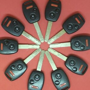 Lot of Ten OEM Ford  Remote Head Key 4B OUCD6000022 HA