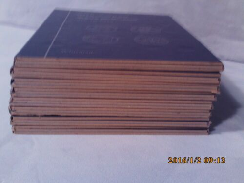 Whitman Blue Tri-Fold Coin Folder #9103 One A Year Dime Collection 1916 to Date