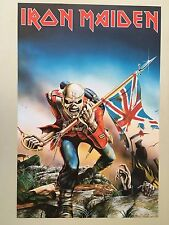 IRON MAIDEN,TROOPER,  AUTHENTIC 2010 POSTER