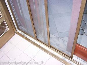 Zanzariera zanzariere a pannelli scorrevoli saliscendi for Porta finestra alluminio prezzo
