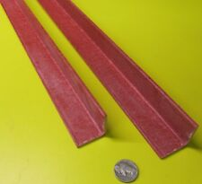 Fiberglass 90 Angles Gpo3 Red 125 Thickness X 125 Arms X 36 Length 2 Pc