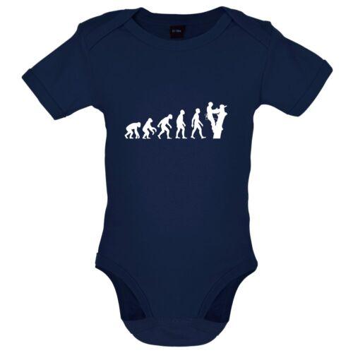 Evolution of man arbre chirurgien-babygrow//body-bûcheron arbre médecin
