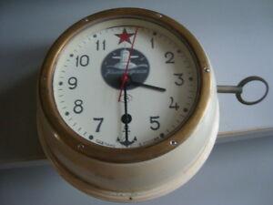 Rare Russian Navy Submarine Wall Clock Vostok Ebay