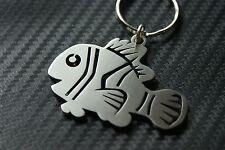 CLOWN FISH Cartoon Cute Aquarium Marine Reef Sea Keyring Keychain Key Fob Gift