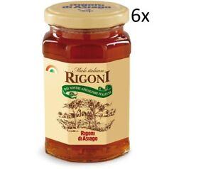 6x Rigoni di Asiago Miele Italiano Honig Einmachglas 400g Italienisches Produkt - Nürnberg, Deutschland - 6x Rigoni di Asiago Miele Italiano Honig Einmachglas 400g Italienisches Produkt - Nürnberg, Deutschland