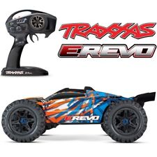 NEW Traxxas E-Revo 2.0 VXL Brushless RTR RC 4WD Monster Truck ORANGE w/TSM
