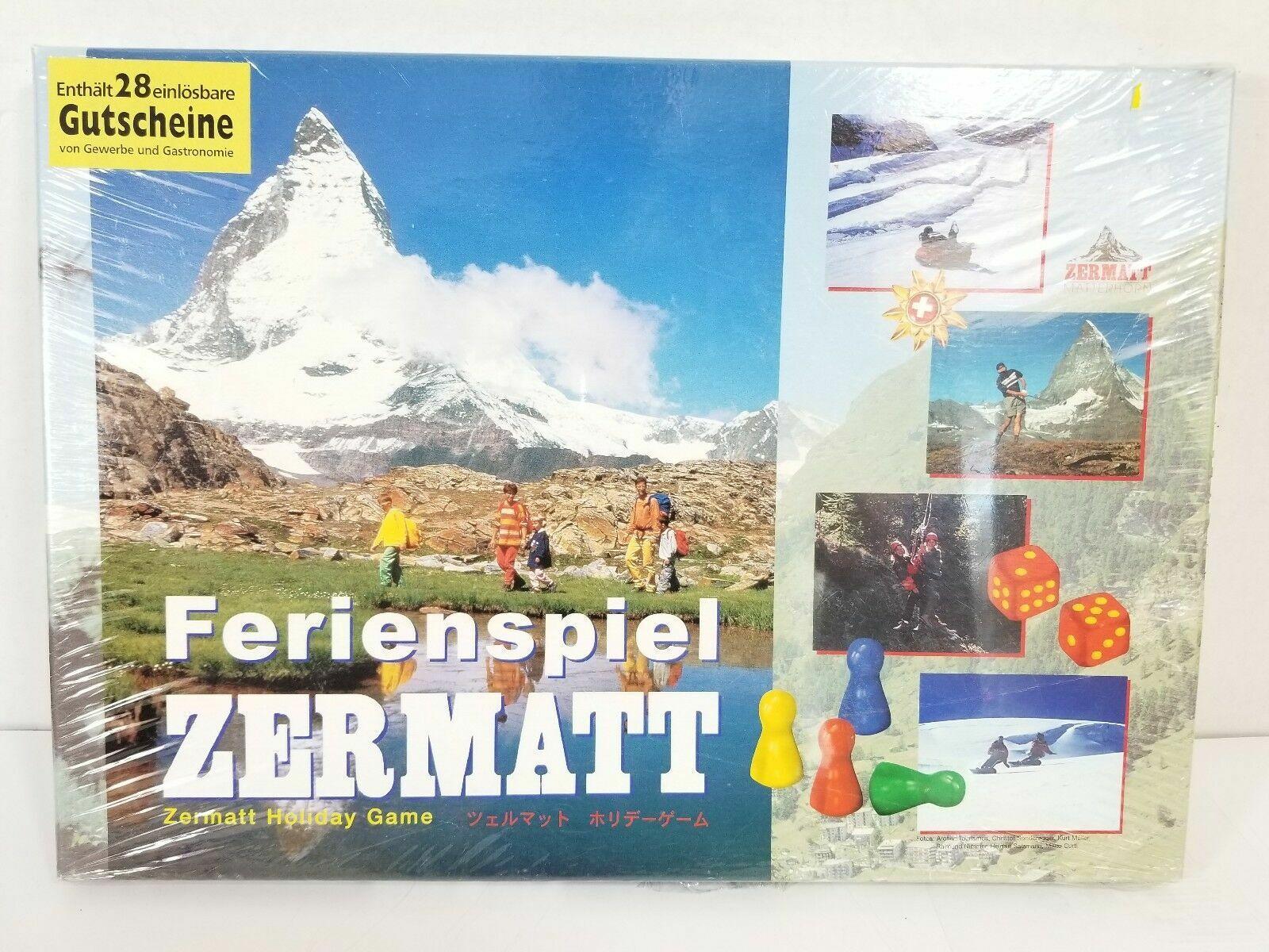 Sito ufficiale Vintage Geruomo tavola gioco Ferienspiel Zermatt Matterhorn by Engeli Engeli Engeli & Partner nuovo  in vendita