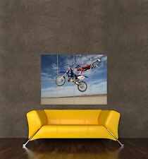 POSTER PRINT PHOTO SPORT SHOT DESERT DIRT BIKE MOTOCROSS JUMP STUNT FUN SEB553