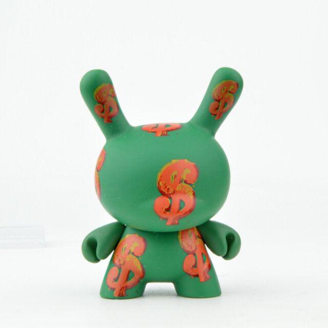 Kidrobot Andy Warhol Dunny Vinyl Mini-Figure Iconic Dollar Sign