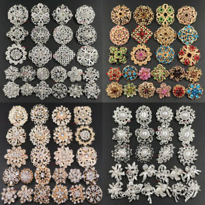 24pc-Brooch-Lot-Mixed-Alloy-Rhinestone-Crystal-Pearl-Pin-Wedding-Bouquet-DIY-Kit