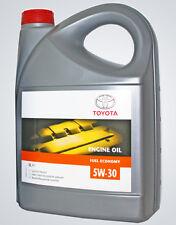 Genuine Toyota Engine Motor Oil 5 Litres Chevron Texaco 5w30 Semi Synthetic  5l