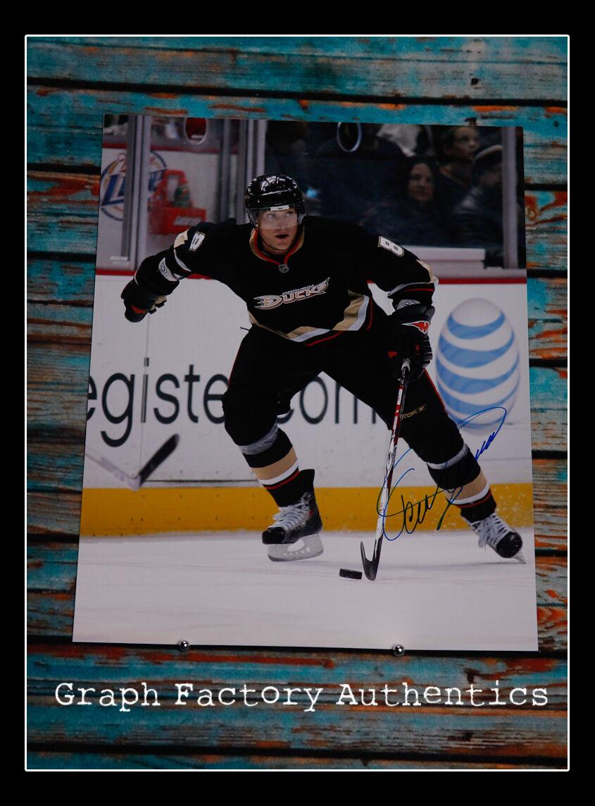 Teemu Selanne Anaheim Ducks Firmado Firmado Firmado 16x20 Foto AD1 GFA Coa c9aca0