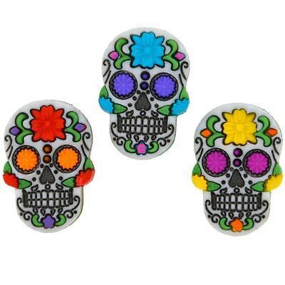 Dress It Up Sewing Buttons, Day Of The Dead, Dia de los Muertos, Sugar Skulls.