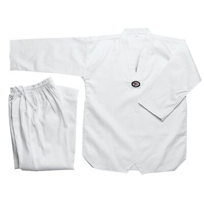 New Taekwondo Uniform TKD Student Dobok Set White Taekwond Gi Uniform All sizes