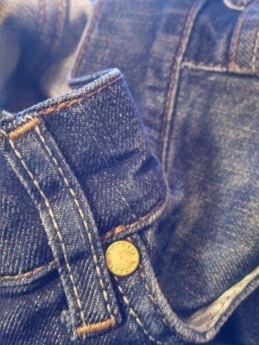 scuro strappati blu jeans Beckham skinny 28 Victoria Jeans gqYSCS